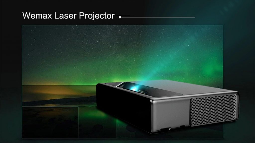 banggood, coupon, gearbest, Xiaomi WEMAX ONE MJJGYY01FM Ultra Short Throw 7000 ANSI Lumens Laser Projector