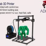 coupon, gearbest, ADIMLab - gantry 3D Printer I3 Plus 310 x 310 x 410 - BLACK EU PLUG