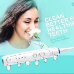 coupon, gearbest, Alfawise RST2056 Sonic Electric Toothbrush - WHITE EU PLUG