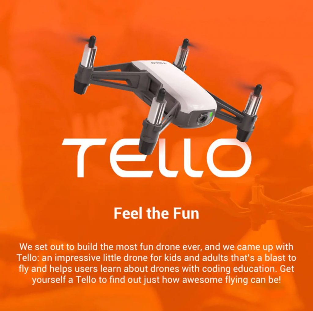 coupon, banggood, DJI Ryze Tello RC Drone HD 5MP WiFi FPV - WHITE EU PLUG, 2 BATTERIES, coupon, GearBest