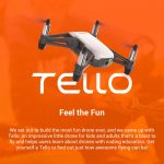 gearbest, coupon, banggood, DJI Ryze Tello RC Drone HD 5MP WiFi FPV - WHITE EU PLUG, 2 BATTERIES, coupon, GearBest