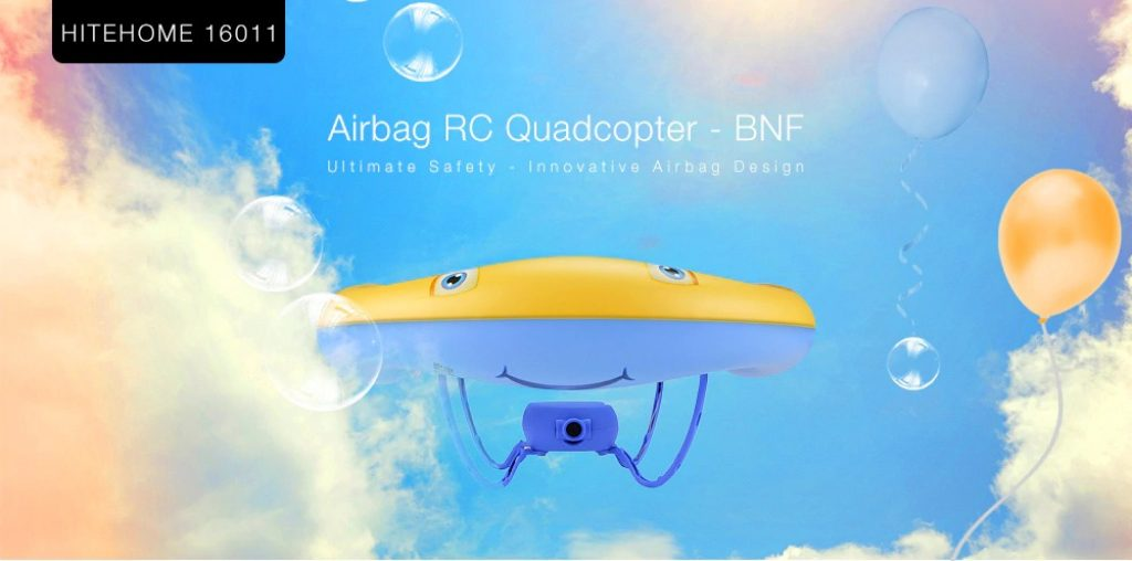 coupon, gearbest, HITEHOME 16011 Airbag RC Quadcopter