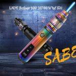 coupon, gearbest, IJOY Saber 100 20700 VW Kit - BLACK