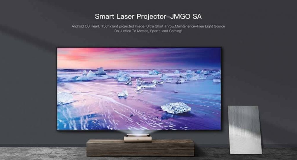 coupon, gearbest, JMGO SA Ultra Short Throw 7000 ANSI Lumens Laser Projector