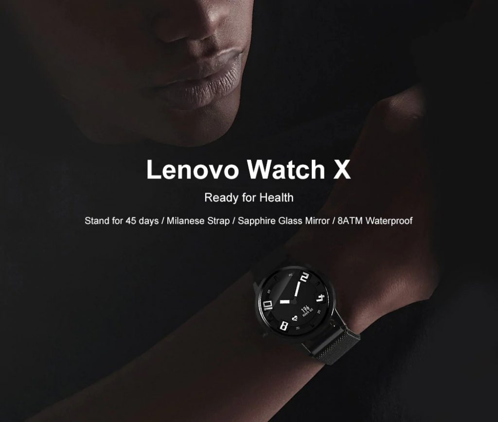 kupon, prijenosnik, Lenovo Watch X Bluetooth vodootporan Smartwatch