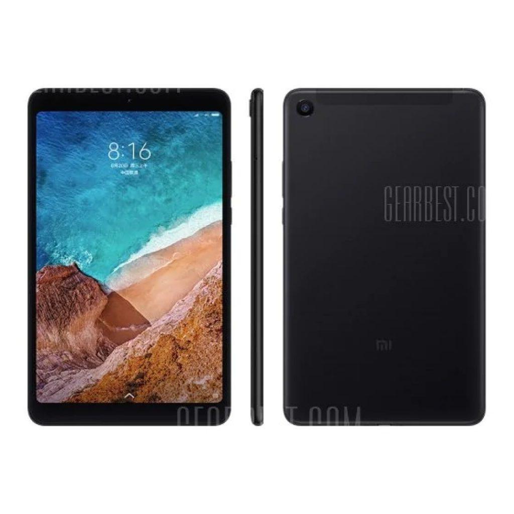 धमाकेदार, कूपन, गियरबेस्ट, Xiaomi Mi Pad 4 4GB RAM 64GB 4G फ़ेब्रेट - ब्लैक