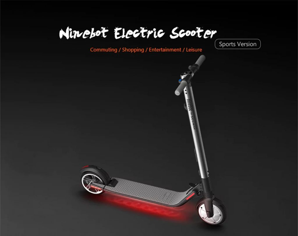 banggood, coupon, gearbest, Xiaomi Ninebot ES2 Folding Electric Scooter from Xiaomi Mijia