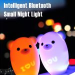 coupon, gearbest, YAOLAN Lemon Bear Intelligent Bluetooth Night Light