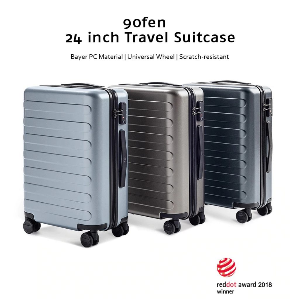 coupon, geabest, 90FUN 24 inch Travel Suitcase Universal Wheel from Xiaomi Youpin