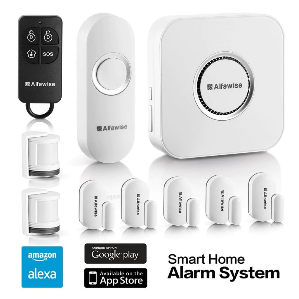 coupon, gearbest, Alfawise SA - 1168 - T90 Home Smart Security Alarm