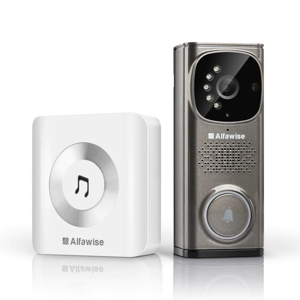 coupon, gearbest, Alfawise WD613 Smart Video Doorbell
