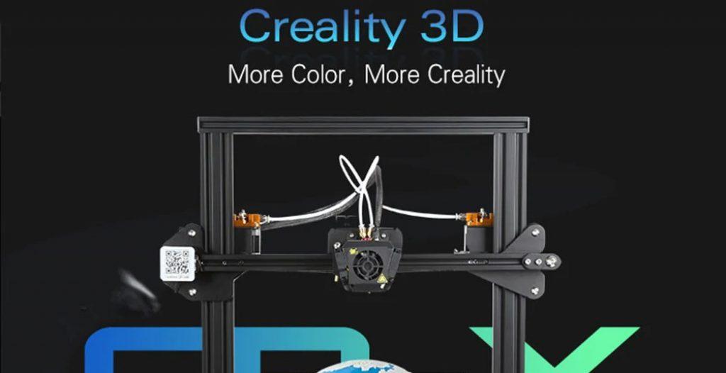 kupon, gearbest, Creality3D CR - X 3D Yazıcıyı Hızlı Bir Şekilde Birleştirin