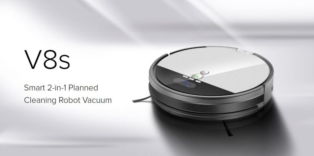 coupon, gearbest, Ilife V8S Robotic Vacuum Cleaner