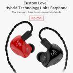 coupon, gearbest, KZ ZS4 HiFi Stereo In-ear Earphone Music Earbuds - BLACK WITHOUT MIC, coupon, GearBest
