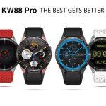 coupon, gearbest, KingWear KW88 Pro 3G Smartwatch Phone