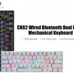 coupon, gearbest, MOTOSPEED CK62 Wired Bluetooth Mechanical Keyboard