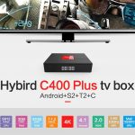 coupon, gearbest, Magicsee C400 Plus Hybird S2 + T2 + C TV Box
