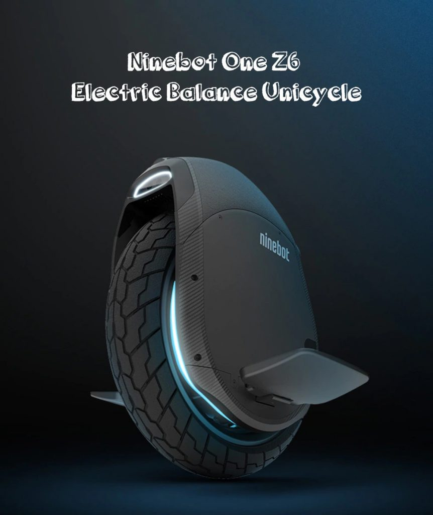 coupon, gearbest, Ninebot One Z6 530Wh Electric Unicycle From Xiaomi Mijia
