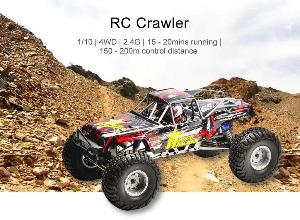 coupon, gearbest, RGT RC Crawler 4WD imperméable camion tout-terrain  électrique ba3573766111