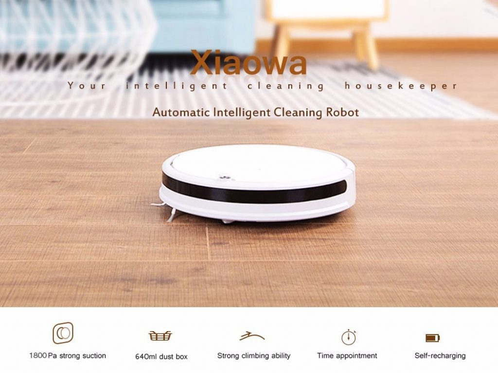 coupon, gearbest, Roborock xiaowa E202 - 00 Smart Robotic Vacuum Cleaner from Xiaomi