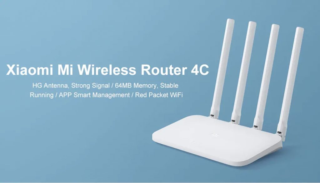 coupon, gearbest, Xiaomi Mi 4C Wireless Router