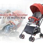 coupon, gearbest, Xiaomi Zhixing KS1701 Foldable Baby Stroller
