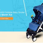 coupon, gearbest, YOYAplus A09 Foldable Baby Stroller