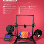coupon, gearbest, ZONESTAR Z10M2 Fast Assemble 3 Large Size Dual Extruder