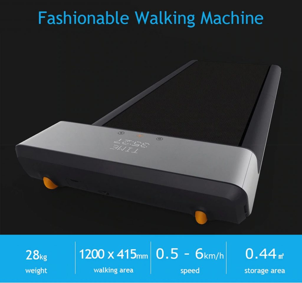 banggood, kupon, gearbest, A1 fold Walking Machine Gym Equipment Fitness mula sa Xiaomi Youpin