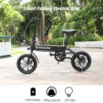 coupon, gearbest, Alfawise YINYU14 Aluminum Alloy Folding Electric Bike