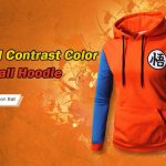 coupon, gearbest, Contrast Color Baseball Casual Hoddie for Men