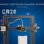 coupon, gearbest, Creality3D CR20 Quickly Assemble 3D Printer