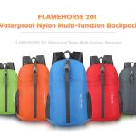coupon, gearbest, FLAMEHORSE 201 Waterproof Nylon Multi-function Backpack