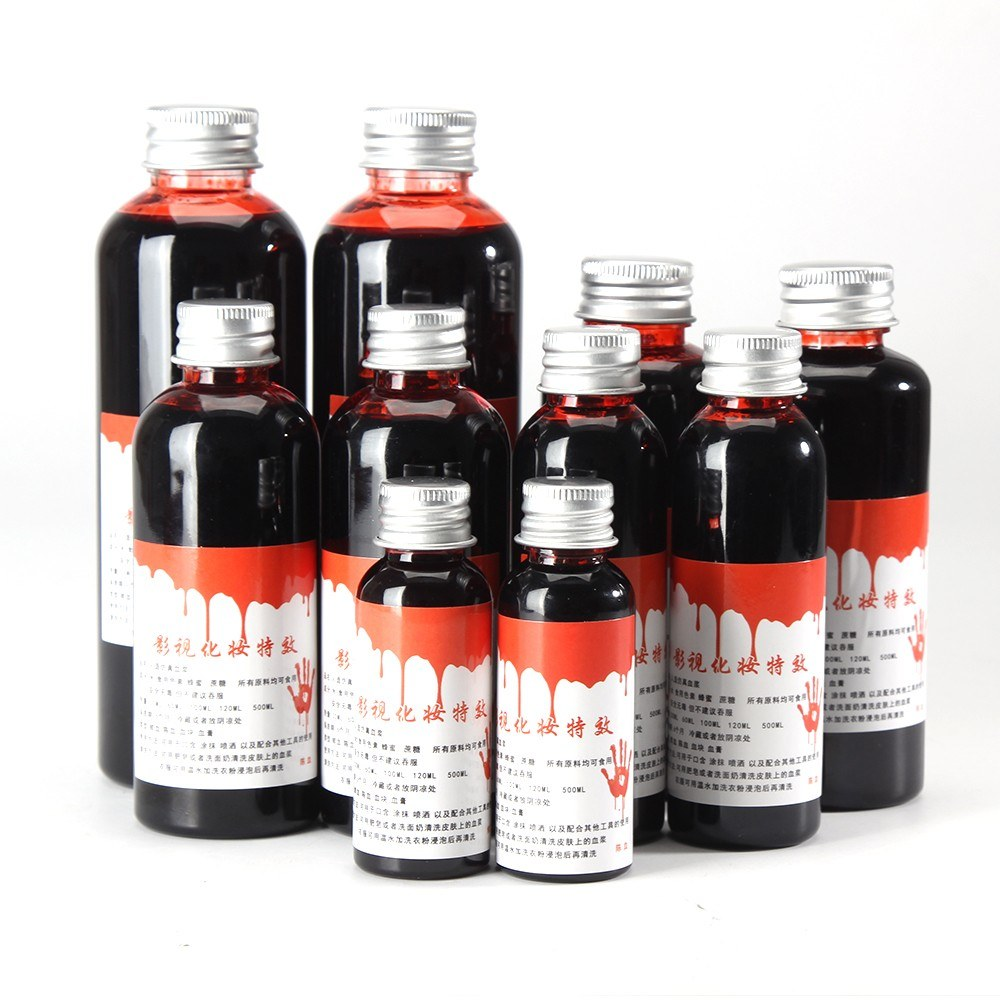 91 Off 60ml Fake Blood Bleeding Halloween Decoration Limited Offer 1 79 From Tomtop Technology Co Ltd China Secret Shopping Deals And Coupons