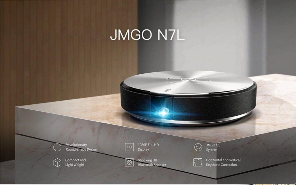 coupon, gearbest, JMGO N7L DLP Projector