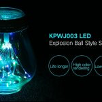 coupon, gearbest, KPWJ003 LED Explosion Ball Style Copper Wire String Light