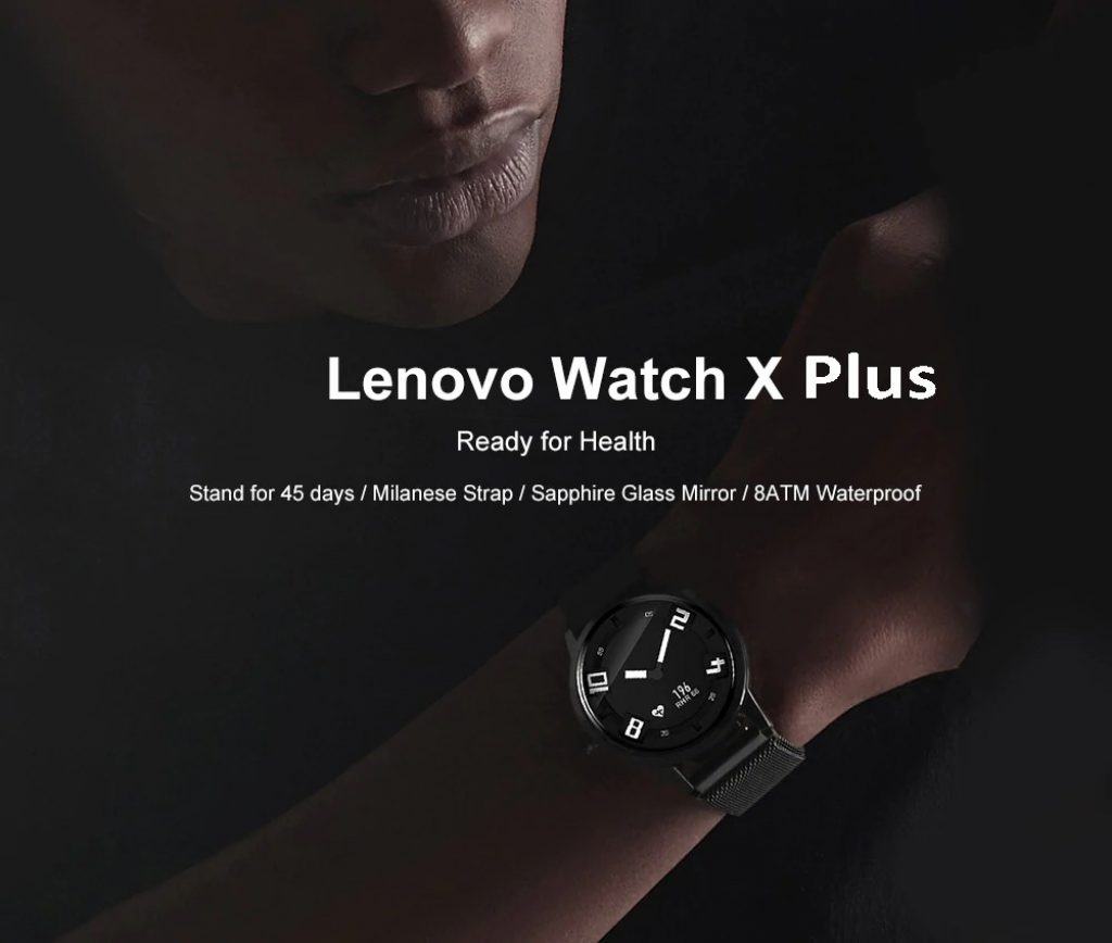 55 With Coupon For Lenovo Watch X Plus Bluetooth Waterproof