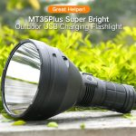 coupon, gearbest, MT35Plus Super Bright Outdoor USB Charging Flashlight