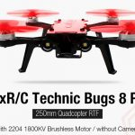 coupon, gearbest, MjxR C Technic Bugs 8 Pro 250mm Quadcopter