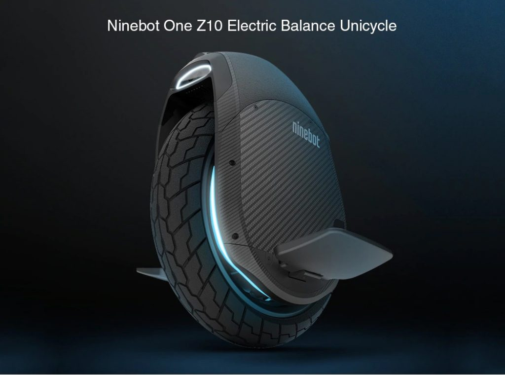 coupon, gearbest, Ninebot One Z10 Electric Balance Unicycle From Xiaomi Mijia