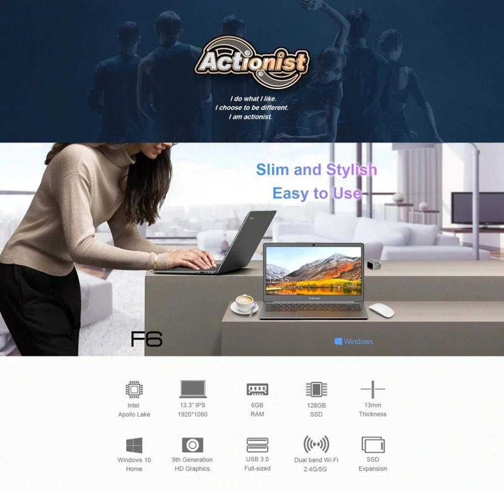 coupon, gearbest, Teclast F6 Laptop
