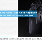 coupon, gearbest, 90FUN Stylish Hooded Down Jacket from Xiaomi youpin