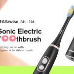 coupon, gearbest, Alfawise BH - 126 Sonic Electric Toothbrush with 2 Brush Heads