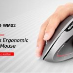 coupon, gearbest, Alfawise WM02 Vertical Wireless 2.4GHz Mouse