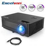 coupon, gearbest, projecteur Excelvan M5