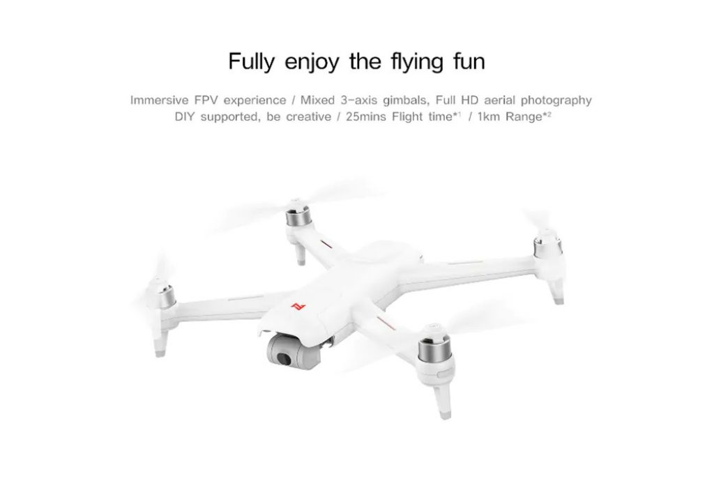 banggood, coupon, gearbest, FIMI A3 5.8G 1KM FPV with 2-axis Gimbal RC Drone from Xiaomi Youpin