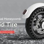 coupon, gearbest, Gocomma Solid Tire pour scooter électrique Xiaomi M365