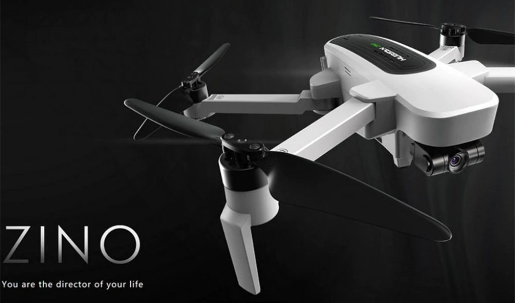 phiếu giảm giá, gearbest, Hubsan H117S Zino GPS 5.8G 1KM FPV với 4K UHD Camera 3-Axis Gimbal RC bay không người lái - RTF