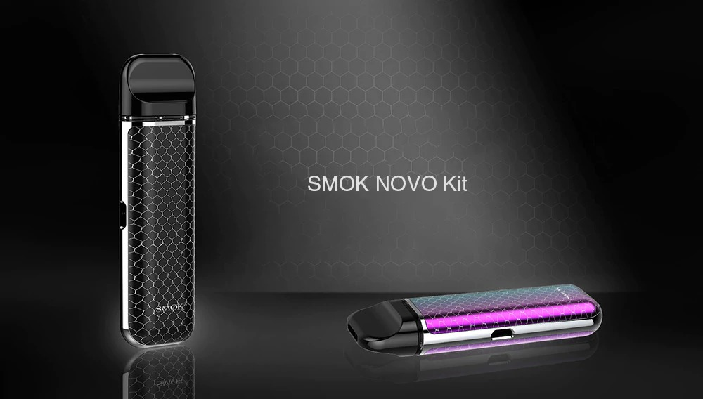 18 With Coupon For Smok Novo Kit Black From Gearbest