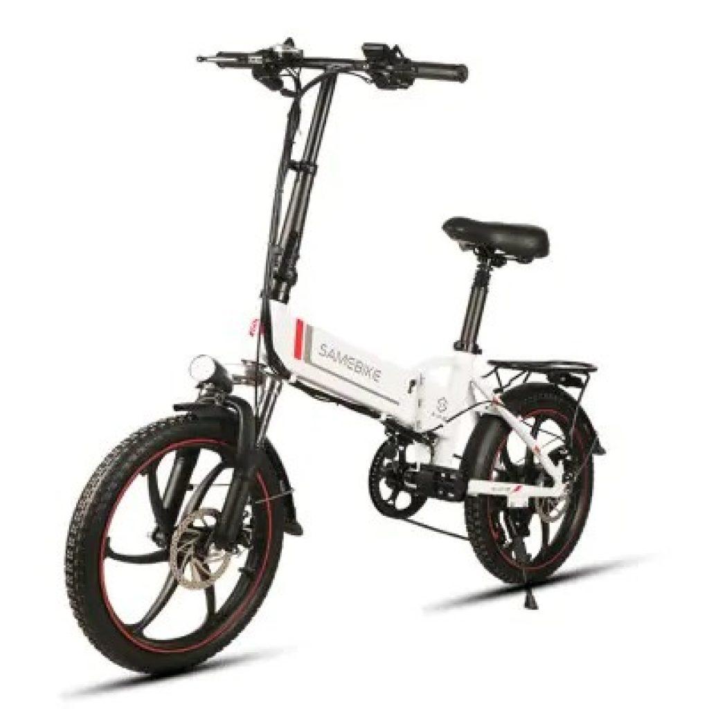 القسيمة ، gearbest ، Samebike 20LVXD30 الذكية قابلة للطي الدراجة الكهربائية الدراجة E- الدراجة